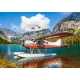 Floatplane on Mountain Lake