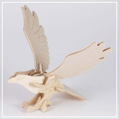 Adler - 3D Holzpuzzle