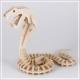 Kobra - 3D Holzpuzzle