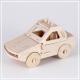 Polizei Auto - 3D Holzpuzzle