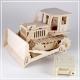 Bulldozer - 3D Holzpuzzle