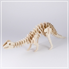 Brontosaurus - 3D Holzpuzzle