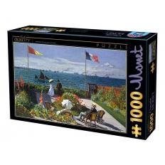 Terrasse at Sainte-Adresse - Claude Monet