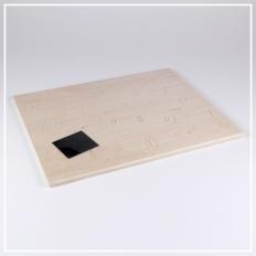 Stier - 3D Holzpuzzle