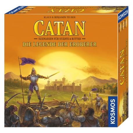 Catan Erweiterung - Die Legende der Eroberer - Szenarien für Städte & Ritter