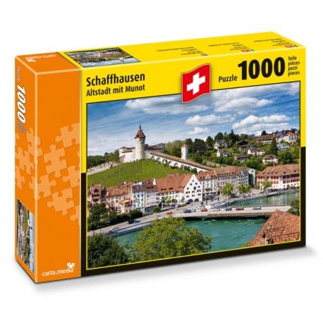 Schaffhausen - Altstadt mit Munot