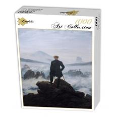 Der Wanderer über dem Nebelmeer - 1818 - Caspar David Friedrich