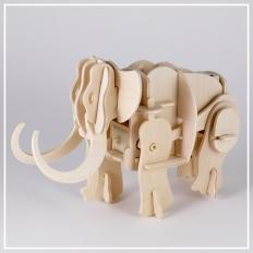 Mammut - 3D Holzpuzzle