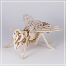 Biene - 3D Holzpuzzle