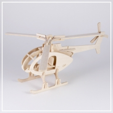 Helikopter - 3D Holzpuzzle