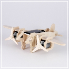 Bomber - 3D Holzpuzzle