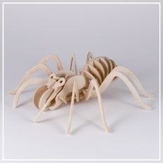 Spinne - 3D Holzpuzzle