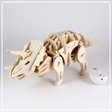 Triceratops - 3D Holzpuzzle