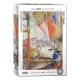 Paris vom Fenster aus (Detail) - Marc Chagall