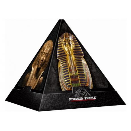 Ägyptische Totenmasken - Puzzle Pyramide