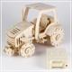 Traktor - 3D Holzpuzzle