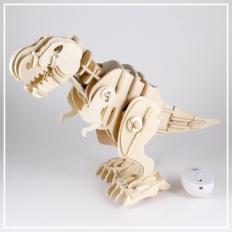 T-Rex - 3D Holzpuzzle