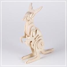 Kängeru - 3D Holzpuzzle