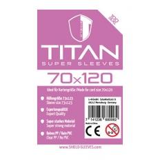 Shield Titan - 100 Super Sleeves (70 x 120mm)
