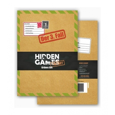 Hidden Games Tatort - Grünes Gift (3.Fall)