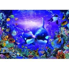 Unterwasserromantik