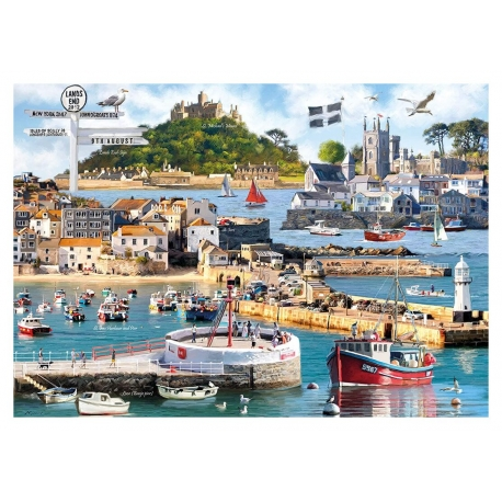 Cornwall Montage