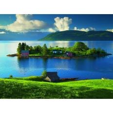 Insel in Hordaland - Norwegen