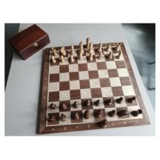 Turnier Schachspiel Nussbaum (B-Qualität)
