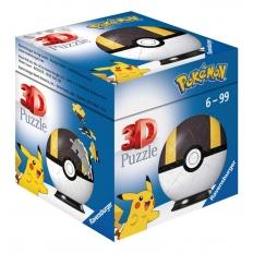 Pokemon Pokeball Ultra Ball - Puzzleball