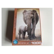 Elefant und Baby (Defekte Verpackung)