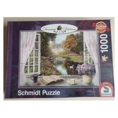 Blick in den Schlossgarten (Defekte Verpackung)