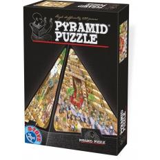 Ägyptischer Cartoon - Puzzle Pyramide