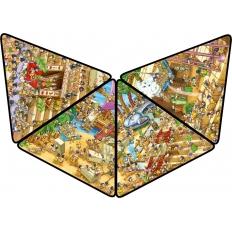 Ägyptischer Cartoon - Puzzlepyramide