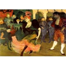 Marcelle Lender tanzt den Bolero in Chilpéric - Henri de Toulouse-Lautrec