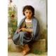 Kleine Strickerin - William Adolphe Bouguereau
