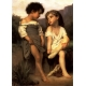 Am Ende des Baches - William Adolphe Bouguereau