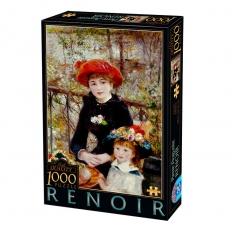 Auf der Terrasse - Pierre Auguste Renoir