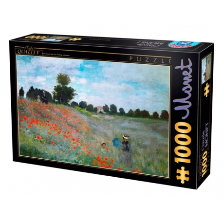 Mohnblumen bei Argenteuil - Claude Monet