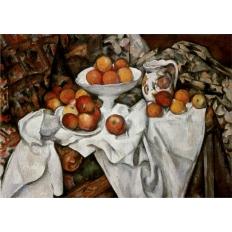 Stillleben mit Äpfeln und Orangen - Paul Cezanne