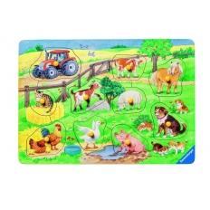Niedliche Bauernhoftiere