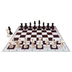 Schachspiel American Tournament [Ivory]