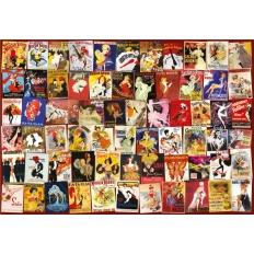 Vintage Poster Collage - Cabaret