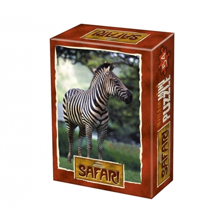 Zebra - Wo muss ich bloss lang?
