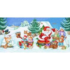 Spass mit dem Weihnachtsmann - Puzzleball