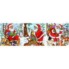 Weihnachtsmann - Tierbesuch
