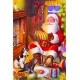 Weihnachtsmann - spielt Handorgel