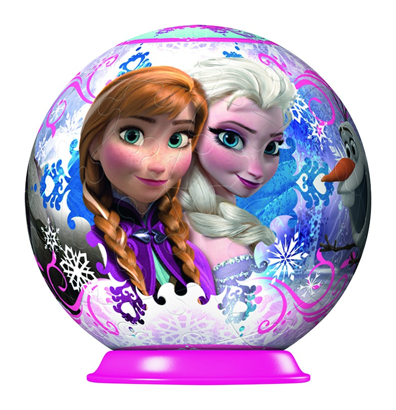 frozen anna elsa puzzleball. Black Bedroom Furniture Sets. Home Design Ideas