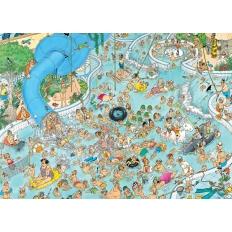 Tropischer Badetag
