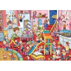 Kinderbetreuung - Wasgij Mystery 11