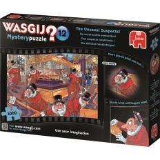 Die üblichen Verdächtigen - Wasgij Mystery 12